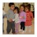 Children in the birthday party